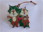 Disney Trading Pin 119306 Woodland Winter Pin Ornament Mystery Set - Chip and Dale