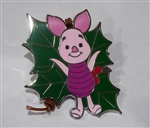 Disney Trading Pin 119339 Woodland Winter Reveal Conceal Mystery Set - Piglet