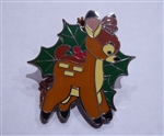 Disney Trading Pin 119343 Woodland Winter Reveal Conceal Mystery Set - Bambi