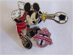 Disney Trading Pin 119388 Mickey Mouse Soccer Pin - Toronto FC