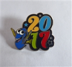 Disney Trading Pin 119501 2017 Dated Character Booster - Dory Only