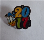 Disney Trading Pin  119502 2017 Dated Character Booster - Donald Only