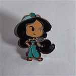 Disney Trading Pin 119516 Cute Stylized Princesses Booster Set - Jasmine Only