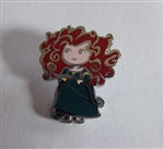 Disney Trading Pin 119518 Cute Stylized Princesses Booster Set - Merida Only