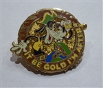 Disney Trading Pin 119547 Pirate Goofy - It Be Gold Im After