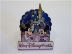 Disney Trading Pin 119550 WDW - Happy New Year 2017 - Mickey and Minnie