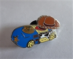 Disney Trading Pin 119562 Disney Racers Mystery Pin Pack - Sheriff Woody