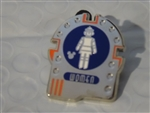 Disney Trading Pin 119778 DLR - 2017 Hidden Mickey - Signs - Space Mountain Womens Restroom