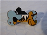 Disney Trading Pin 119802 WDW - 2017 Hidden Mickey - Disney Dog Bones - Pluto