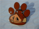 Disney Trading Pin 119808 WDW - 2017 Hidden Mickey - The Lion King Characters - Pumbaa