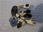 Disney Trading Pin 119848 Mickey Soccer Teams - Vancouver Whitecaps