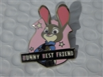 Disney Trading Pin  119850 Judy Hopps - Zootopia - Bunny Best Friend