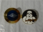 Disney Trading Pin  119975 DCL - Star Wars Day At Sea - 2017 - Porthole Character Pin - Stormtrooper