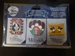 Disney Trading Pins 120030 DS - 30th Anniversary Commemorative Series - 3 Pin Set - Week 1