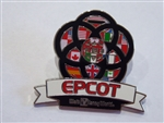 Disney Trading Pins  120046 WDW - Epcot Center Flags in Epcot Logo