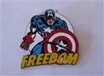 Disney Trading Pin 120068 Marvel Captain America - Freedom