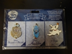 Disney Trading Pins 120170 DS - 30th Anniversary Commemorative Series - 3 Pin Set - Week 2