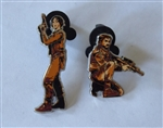 Disney Trading Pin  120203 Star Wars: Rogue One - 2 pin set - Jyn and Cassian