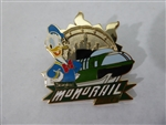 Disney Trading Pins 120297 DLR - Monorail Mystery Collection - Donald