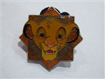 Disney Trading Pins 120341 Disney Parks - The Lion King - Pin Trading Starter Set - Simba Only
