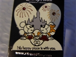 Disney Trading Pin  120426 Valentine - Minnie and Mickey - Happy Place