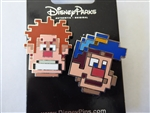 Disney Trading Pins  120624 Pixelated Characters 2 Pin Set - Ralph and Felix