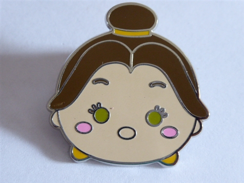 a41ed9d5d8f Disney Trading Pin 120754 Beauty and the Beast Tsum Tsum Mystery Set ...