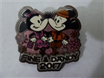 Disney Trading Pin  120775 Fine and Dandy 2017 - Mickey and Minnie