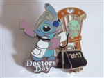 Disney Trading Pin 120783 Doctors' Day 2017 - Stitch and Scrump