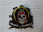 Disney Trading Pin 121061 Pirates of the Caribbean - 50th Anniversary - Annual Passholder