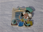 Disney Trading Pin 121278 DLR - Piece of Disneyland History 2017 - The Mad Hatter