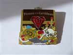Disney Trading Pin 121313 DLR - Pirates of the Caribbean - 50th Anniversary - Red Gem