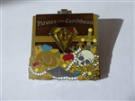 Disney Trading Pin 121314 DLR - Pirates of the Caribbean - 50th Anniversary - Yellow Gem