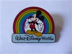 Disney Trading Pin 12142 WDW - Rainbow Mickey black prototype