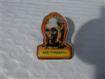 Disney Trading Pin 121457 40th Anniversary Star Wars Mystery Collection - See Threepio Chaser only