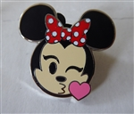 Disney Trading Pin 122051 Emoji Blitz Minnie Booster - Kiss only