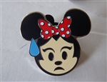 Disney Trading Pin 122052 Emoji Blitz Minnie Booster - Nervous Only