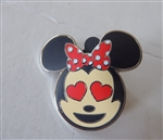 Disney Trading Pin 122053 Emoji Blitz Minnie Booster - Heart Eyes Only