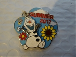 Disney Trading Pin  122299 Frozen - Olaf - Summer 2017