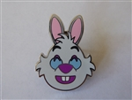 Disney Trading Pin 122475 Emoji Blitz White Rabbit Grin