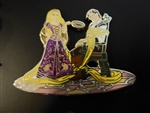 Disney Trading Pins 122870 DS - Designer Collection 7-pin set - Rapunzel and Flynn