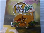 Disney Trading Pin 123169 Bambi - 75th Anniversary - Faline and Twins