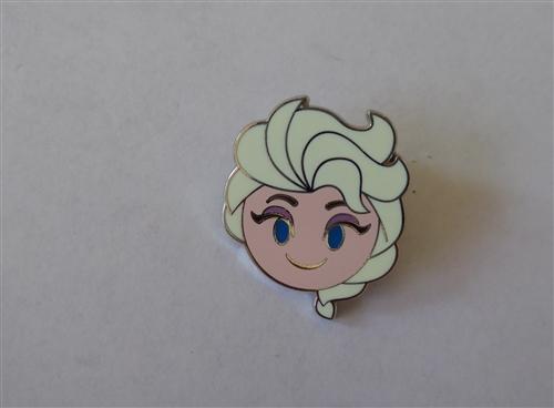 Emoji Blitz Elsa Smiling Frozen Disney Pin