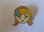 Disney Trading Pin 123198 Emoji Blitz - Booster Set - Anna Nervous Only