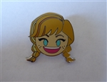 Disney Trading Pin 123199 Emoji Blitz - Booster Set - Anna Smiling Only