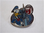 Disney Trading Pins 123910 WDW - Magic Kingdom 45th Anniversary Starter Set - Donald Duck.