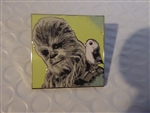 Disney Trading Pin 124042 Star Wars: The Last Jedi Mystery Pin Chewbacca with Porg ONLY