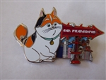 Disney Trading Pin 124102 DSSH - Sign Post Series - San Fransokyo - Mochi