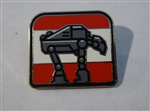 Disney Trading Pin 124271 Star Wars: The Last Jedi Booster Pin Set - First Order Heavy Assault Walker only