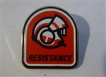 Disney Trading Pin 124272 Star Wars: The Last Jedi Booster Pin Set - Resistance pilot helmet only